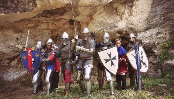Команда Армэ на съемках в Болгарии